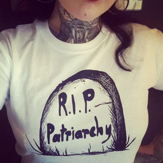 "Organic Cotton T-shirt ""R.I.P. Patriarchy"""