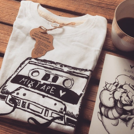 "KIDS Organic Cotton T-Shirt ""Mixtape"""
