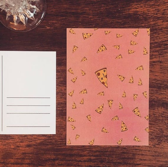 "Postcard ""Pizza"""