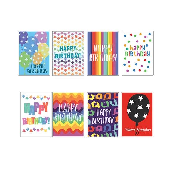 Birthday Card Pack Birthday Card Multi Pack Birthday Card Etsy