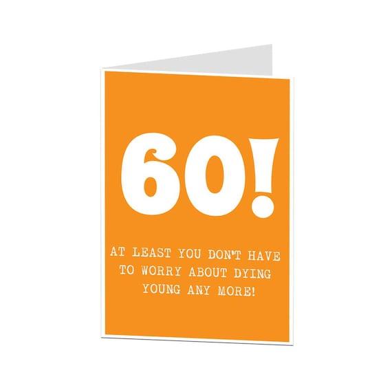 Karte zum 60 geburtstag mann