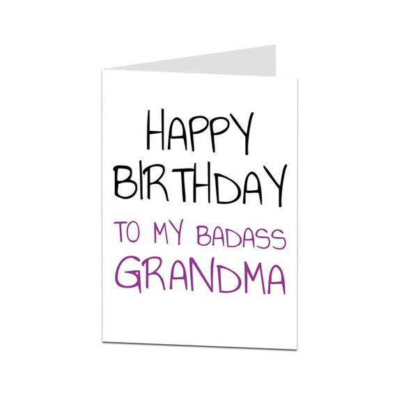 Grandma Card Birthday Happy