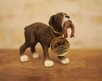 Leonardo Collection Boxer Dog Ornament
