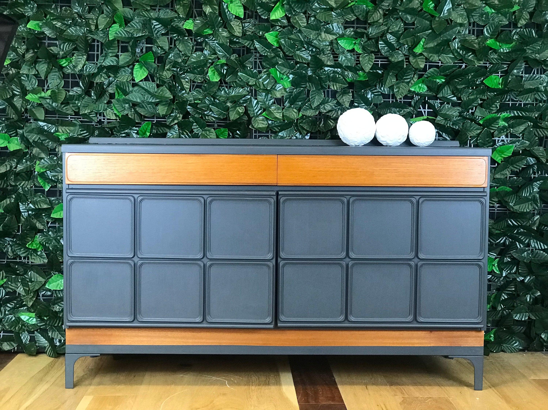 Mcintosh Sideboard Small Sideboard Mid Century Modern Grey Sideboard Teak Sideboard Retro Sideboard