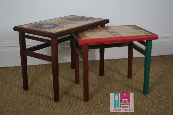 Gplan, Nest of Tables, Pair of Tables, End Table, Side Table, Sofa Table, Coffee Table