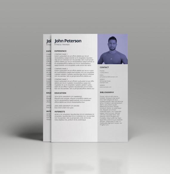 Lebenslauf-Vorlage für MS Word CV Vorlage professionellen