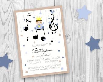 Music birthday party, music theme birthday, music first birthday invite, music digital invites, music notes invite, baby shower music theme