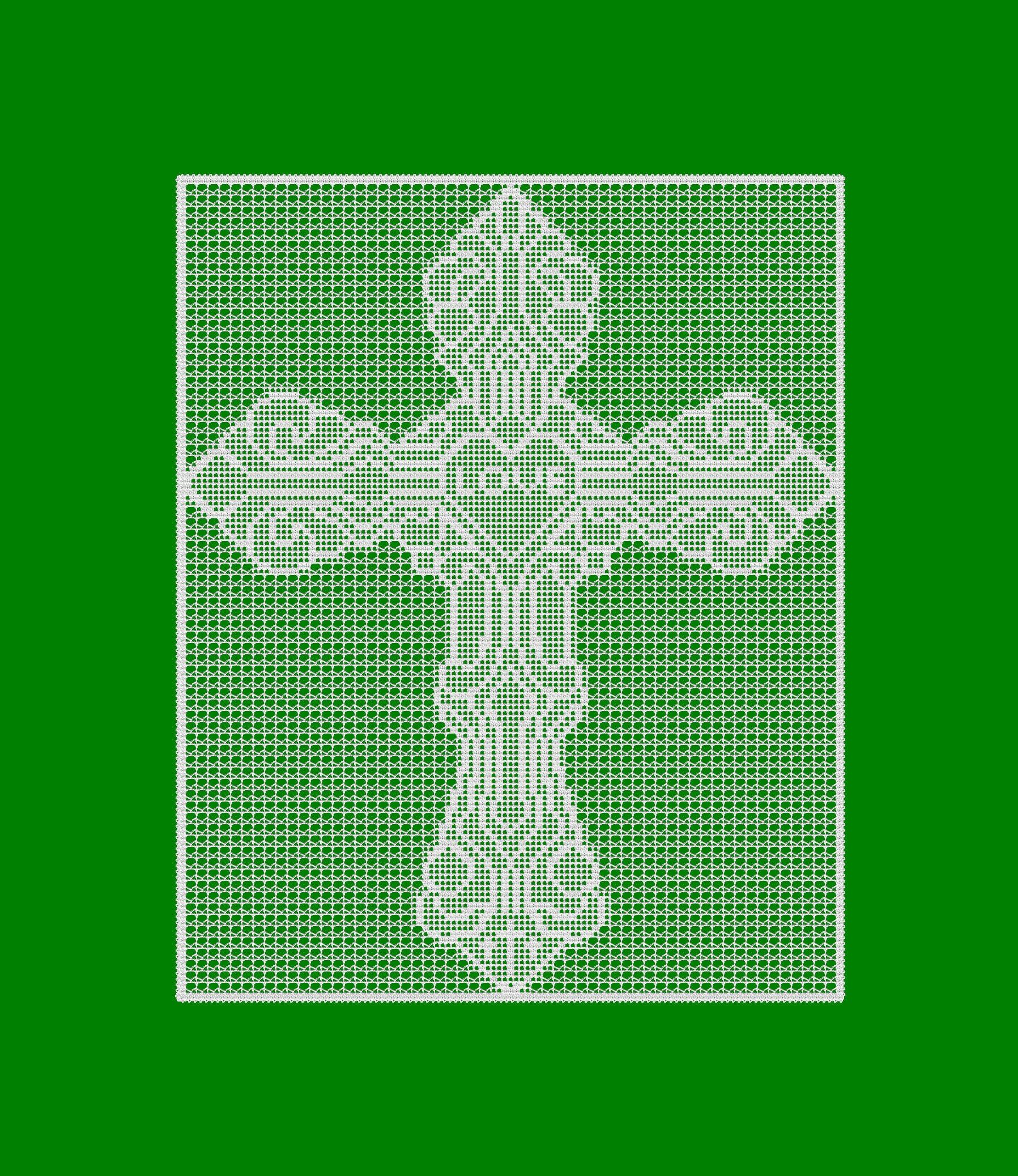 Love Defined Cross Filet Crochet Wall Decor Pattern Charts Etsy Diagram Patterns Easy Ideas Zoom
