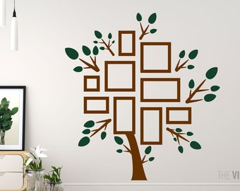 Family Tree Wall Decal Etsy