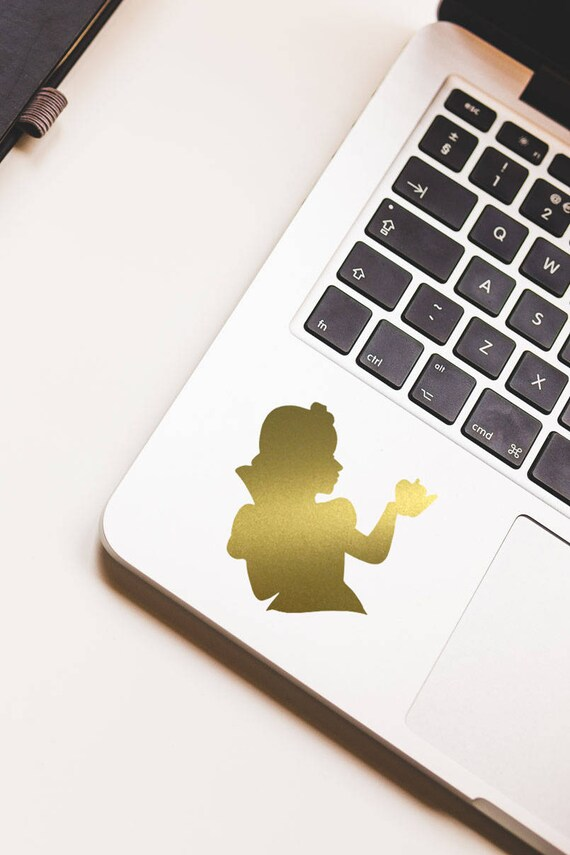 Official Disney Princess Gold Gadget Decals Stickers for Phones /& Laptops UK New