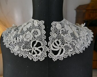 Parasole Pizzo Ombrello da Sole Rococò Barocco Vittoriana Biedermeier Bianco