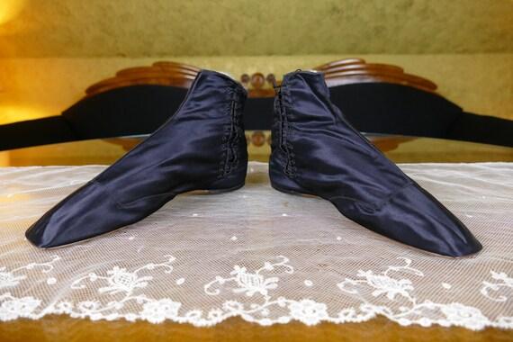 1830 Romantic Period Boots, France, antique boots,