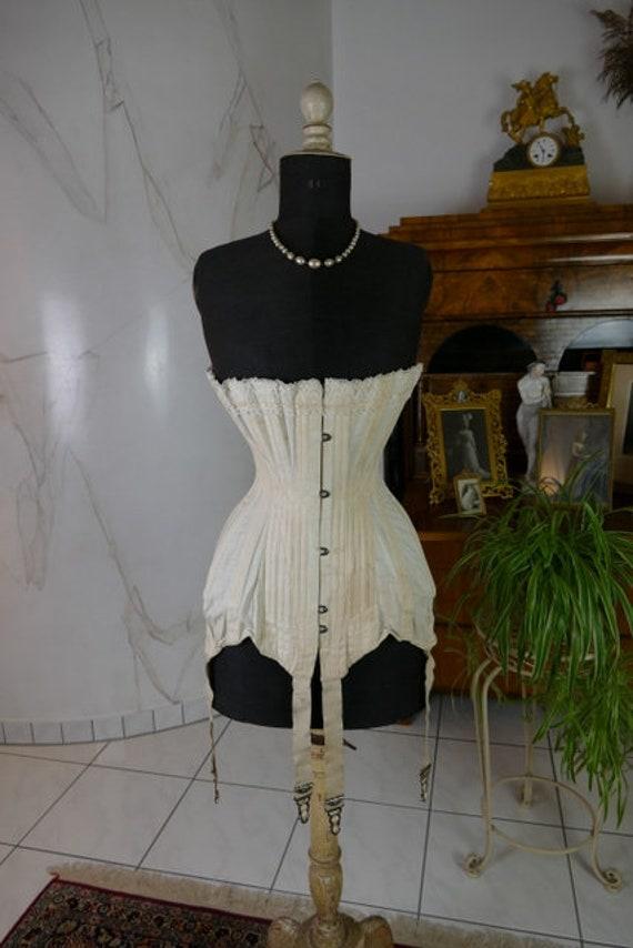 1911 AMERICAN BEAUTY Corset, antique corset, Edwar