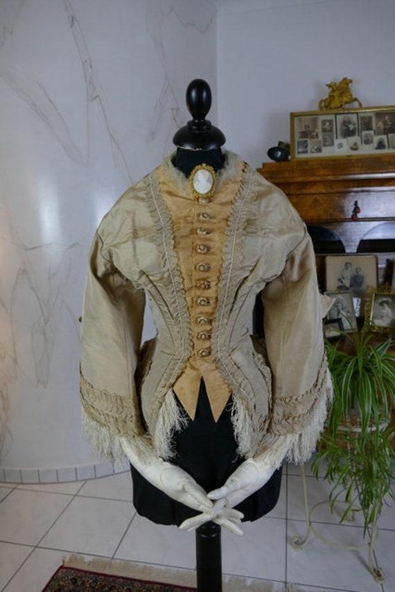1867-1875 Bodice, antique bodice, Victorian bodice