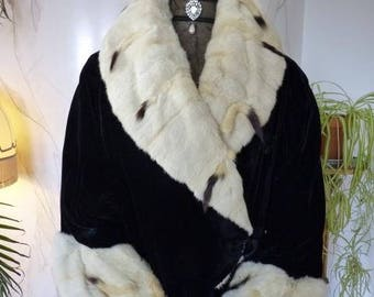 1916 Ermine Coat, antique coat, antique dress, antique gown
