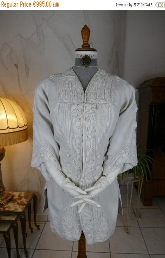 ON SALE 1908 AMY Linker Jacket, Paris, antique Jac