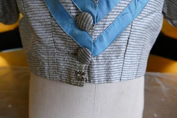 1850s bodice, antique bodice, antique dress, anti… - image 4