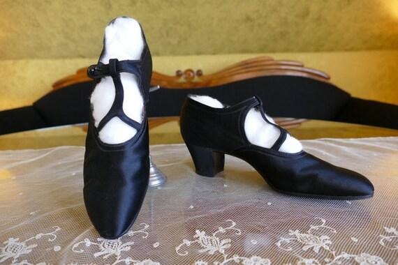 1926 PORTER Shoes, antique shoes, antique pumps, 1
