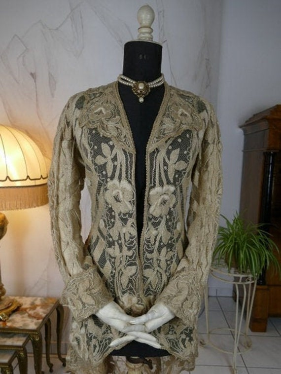 1906 Jacket, Lace Jacket, Edwardian jacket, lady's