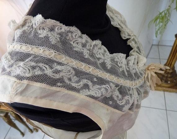 1880 Wedding Camisole, antique Camisole, Victoria… - image 3