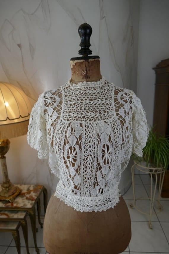1916 Blouse, antique blouse, antike Bluse, antique