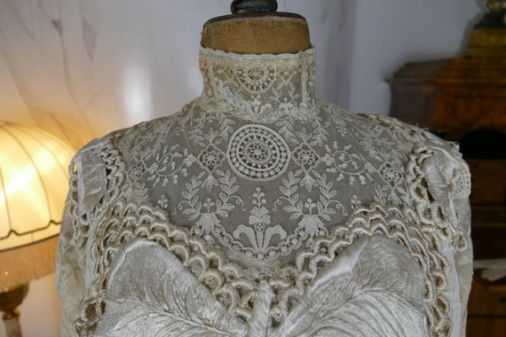 1904 Gown, antique dress, antique gown, Edwardian