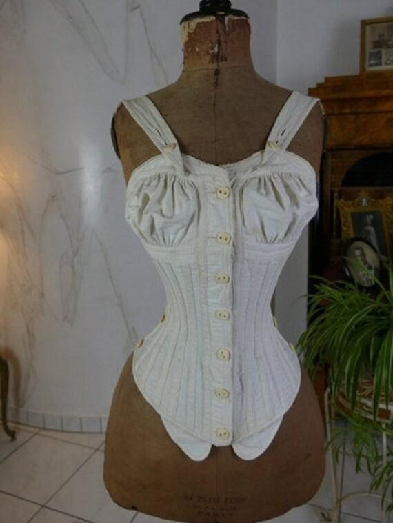 1890 Royal Worchester corset, antique corset, anti