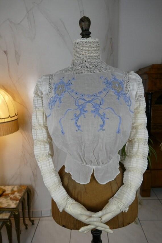 1910 Blouse, antique blouse, Edwardian blouse, ant