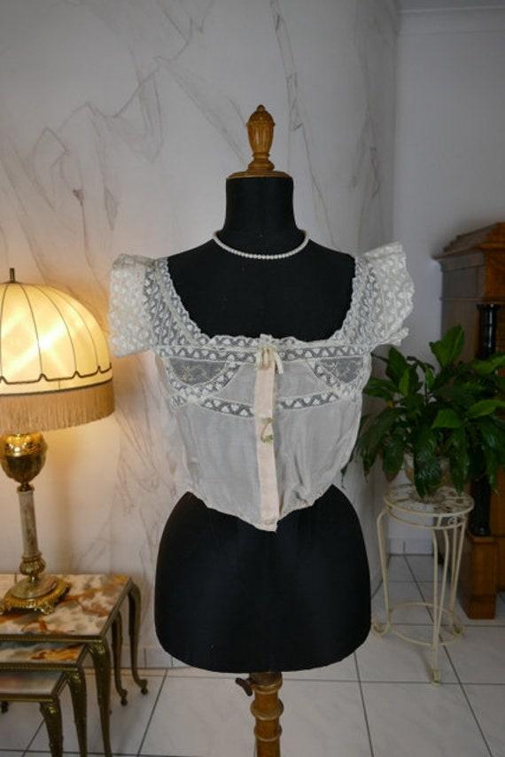 1918 Camisole, antique camisole, antique lingerie,