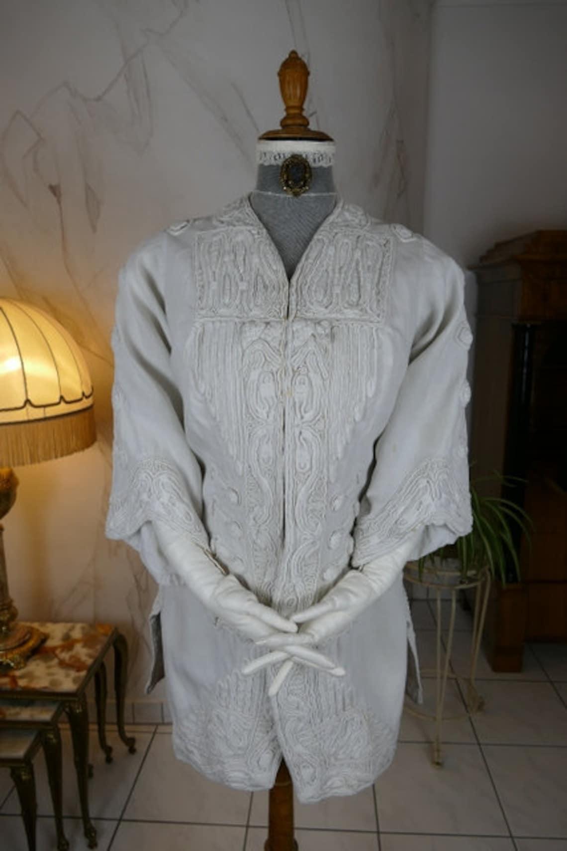 1908 Amy Linker Jacket, Paris, Antique Edwardian Dress, Gown, Coat