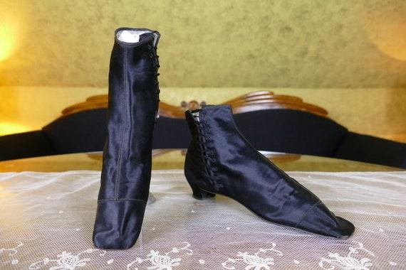 1855-1860 Victorian Boots, antique boots, antique