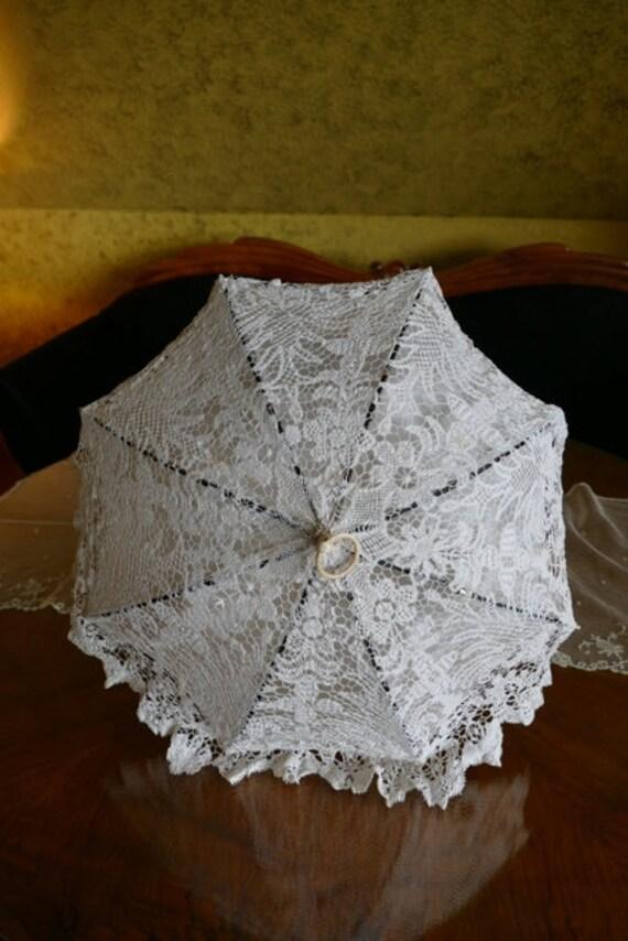 1865 CAZAL Folding Parasol, Paris, antique parasol