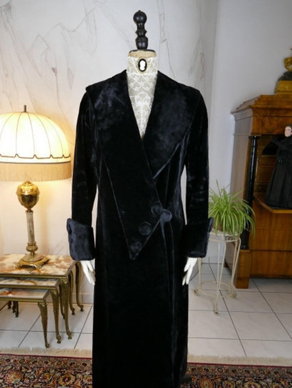 1912 Coat, Titanic Era Antique Edwardian Dress, Gown