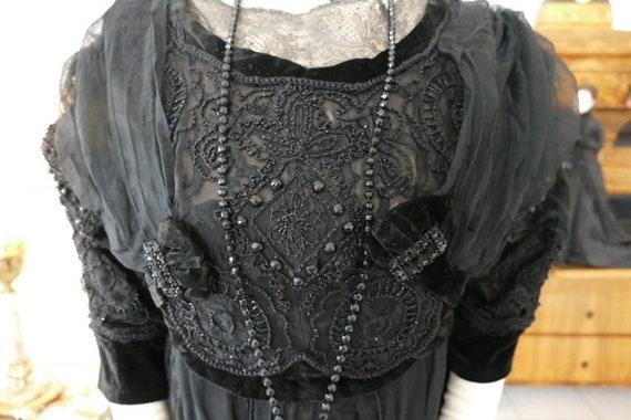 1908  Evening Dress, antique dress, antique gown,
