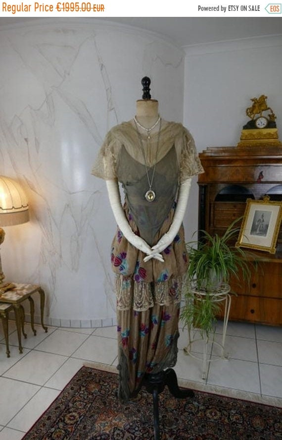 ON SALE 1913 Harem Pants or Jupe-Culottes, antique