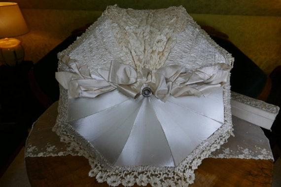 1905 Wedding Parasol, wedding umbrella, stroll umb