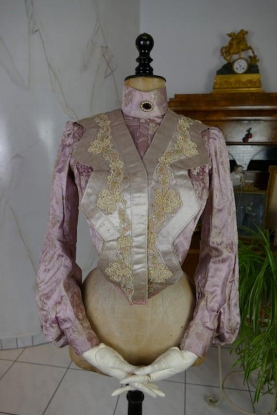 1903 Bodice, antique bodice, antique top, antique