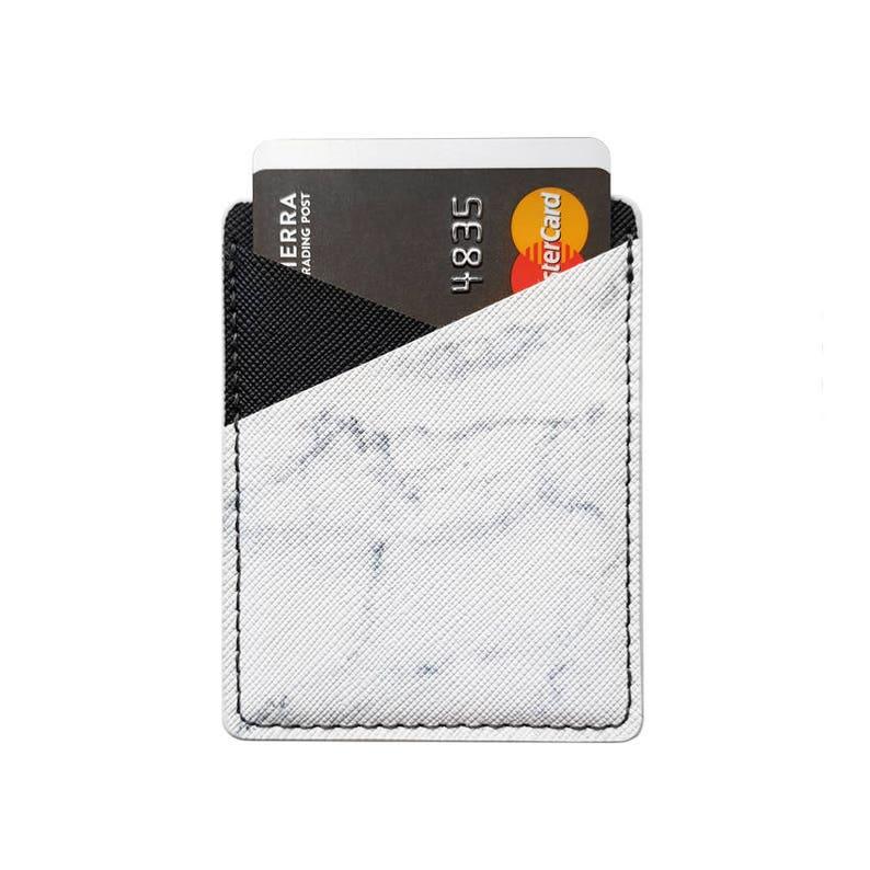 Phone Card Holder Phone Wallet Phone Pocket Leather Card image 0