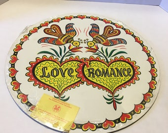 Vintage Love and Romance Hex Sign
