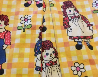 Vintage Saks Fifth Avenue Girls Raggedy Ann and Andy Jacket