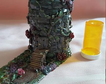 Dark Fairy Candleholder