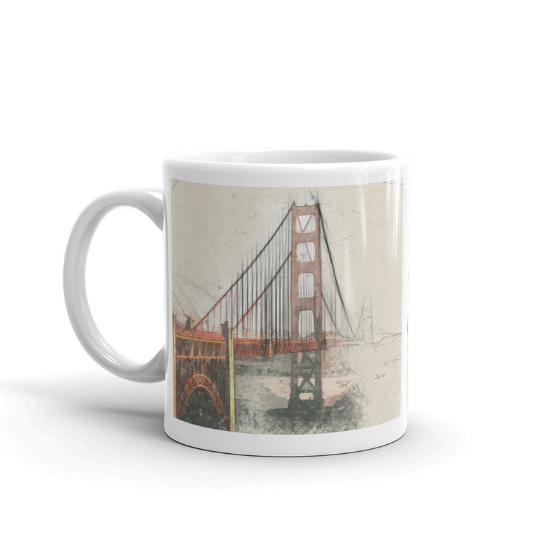 California Gift Idea  Going Away Gift   Large Coffee Mug  image 0