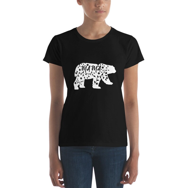 Mama Bear Shirt  Maternity Shirt  Expecting Mom Gift  Mama image 0