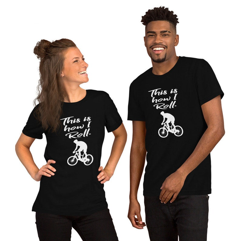 Gifts For Cyclist  Bicycle Gift  Mens Cycling Shirt  image 0