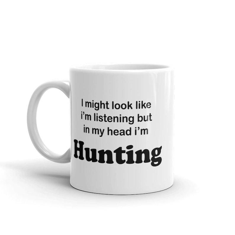 Mens Hunting Gift  Hunting Gift For Men  Groomsman Mug  image 0