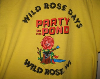 vintage Wild Rose Days t-shirt