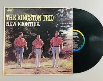 Kingston Trio, New Frontier, 1962 vintage LP record album music vinyl Greenback Dollar classic audio T1809 free shipping (7005)M