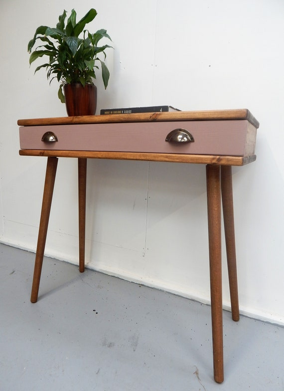 Console Table With Drawer Hallway Rustic - Small Console Table With Drawers