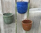 Handmade Wall-hanging Orchid Pot