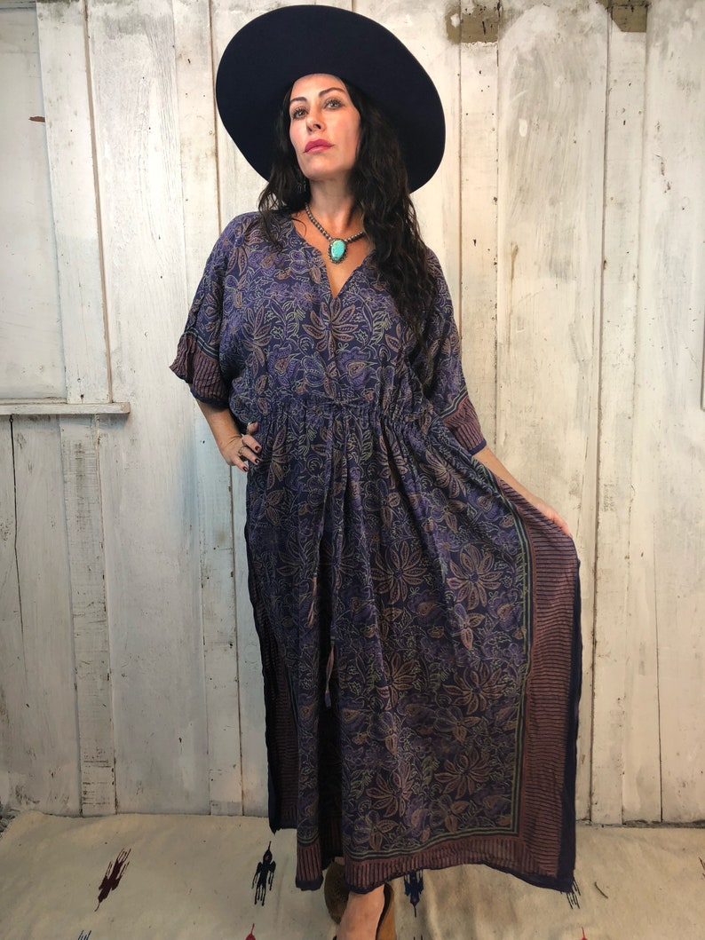11efe5482a Vintage Indian Gauze Dress//Gauzy Cotton Dress// Bohemian | Etsy